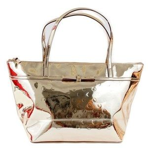Kate Spade Camellia St. Sophie Gold Tote NWT